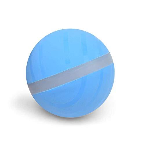 Willlly Wicked Ball - Bola de salto para mascotas, con luz LED eléctrica, divertida, automática, juguetes interactivos, gatos y perros, bolas malvadas (color: color, talla única: EIN)