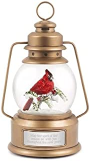 Things Remembered Personalized Cardinal Lantern Snow Globe with Engraving Included