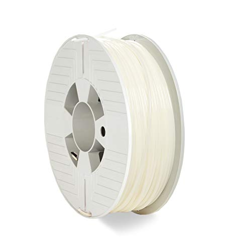 VERBATIM PLA-Filament 3D-Printing I 2.85mm I 1kg I high end polyactide-Filament for Material Extrusion I for 3D-Printer & 3D-Pen I 3D-Printer-Filament Made of PLA I 1 Spool 126m I Natural