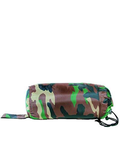Mil-Tec Sac de couchage commando Camouflage taille unique