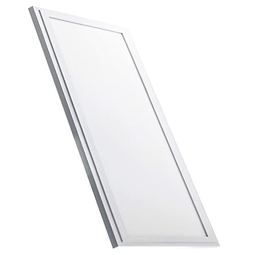 Led Atomant Panel LED Slim 120x60 cm. 72W Frío 6600 lúmenes Reales. Driver Incluido, 72 W, Blanco Frio (6500K)