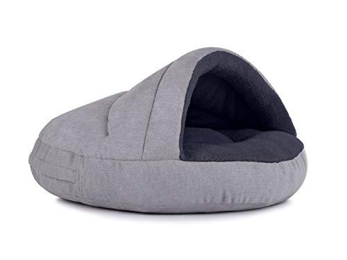PadsForAll Hundehöhle außen schick, innen bequem, Hundekorb, attraktive Farben, Katzenhöhle