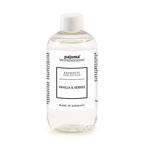 pajoma Raumduft Nachfüllflasche 250ml Duftöl für Diffuser Duft wählbar (Vanilla und Berries)