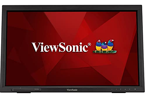 """ViewSonic TD2223 Écran Tactile Full HD, HDMI, USB, 10 Points, Support intégré, Haut-Parleur, Service d'échange 4 Ans Noir 54,6 cm (22"""")"""