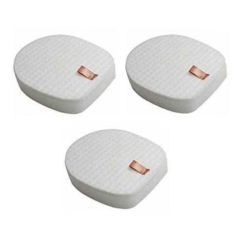 Cxnply Pre-Motor Foam and Felt Filters Kit Replacement for Shark IX141,IZ140,IZ162H,IZ163H,IZ363HT,IZ362,IZ462H,HUZ145 Cordless Stick Vacuums. (3 Pack)