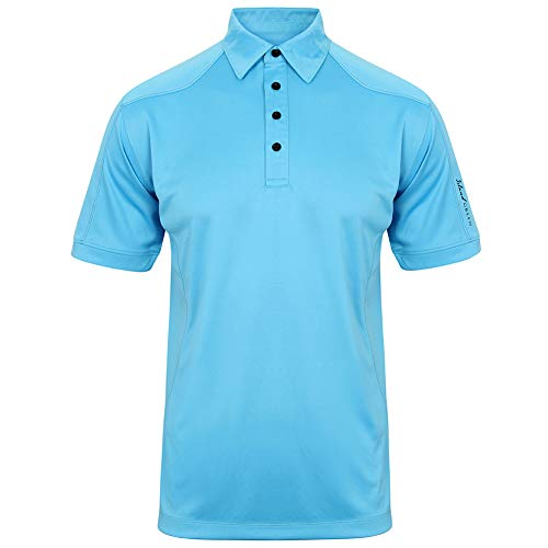 Island Green Golf IGTS1648 CoolPass Polo Respirant pour Homme Taille XL