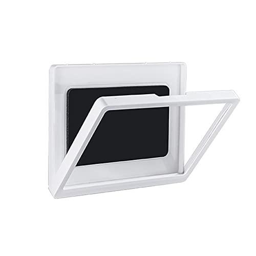 QYLJZB Soporte de ducha para iPad de 360°, soporte para tableta impermeable con pantalla sellada para evitar la niebla HD, pantalla táctil montada en la pared para iPad (blanco)
