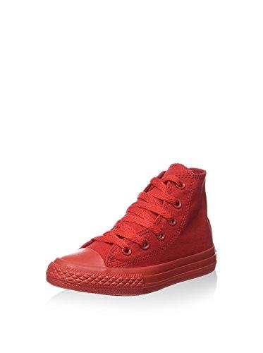 Converse Zapatillas Abotinadas All Star Hi Canvas Monochrome Rojo EU 28