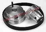 Online Auto Supply Serpentine Drive Belt Kit for Ammco Brake Lathe 3000, 4000, 4100, 7000, 7500