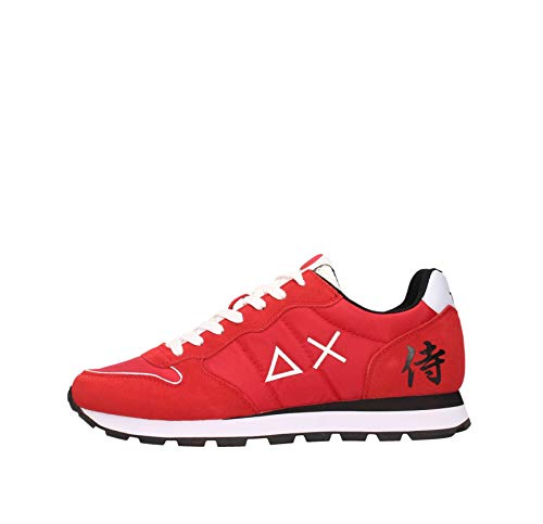 SUN 68 Sneakers Uomo Rosso Z31104 10
