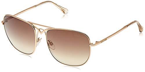 Roberto Cavalli Unisex-Erwachsene RC1053 28G 59 Brillengestelle, Gold (ORO Rosã Lucido\\\\Marrone Specchiato), 59.0