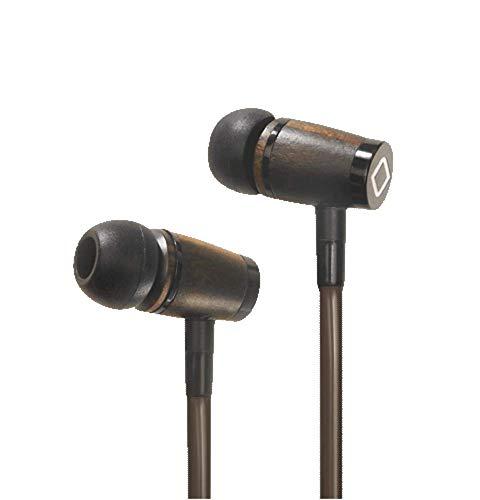 elektrosmog-reduzierendes Headset - AIRCOM A6 Holz Stereo