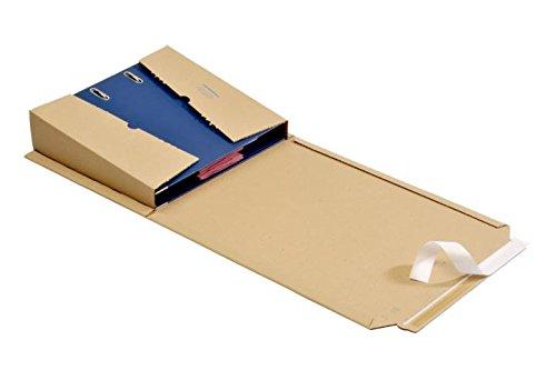 6 St OPB - ORDNERPAC® Ordner-Versandboxen, Ordner-Versandkartons, Ordnerverpackung, Ordnerversandverpackung 320*290*35-80 mm