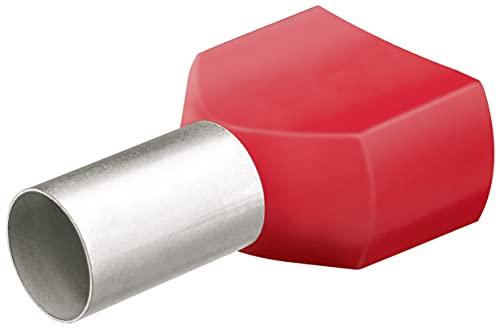 KNIPEX Twin-Aderendhülsen mit Kunststoffkragen je 50 Stück 97 99 377