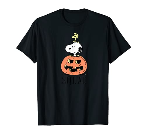 Snoopy and Woodtsock Halloween Pumpkin T-shirts, Adults and Kids