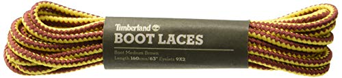 Timberland 63-Inch Replacement Boot Laces-Medium Brown Shoe Care Product, OS 0X US