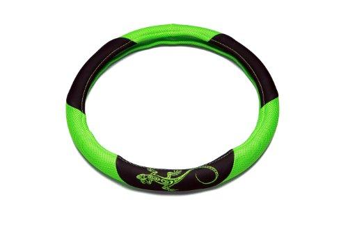 UNITEC 75386 Lenkradhülle Reptilia, grün