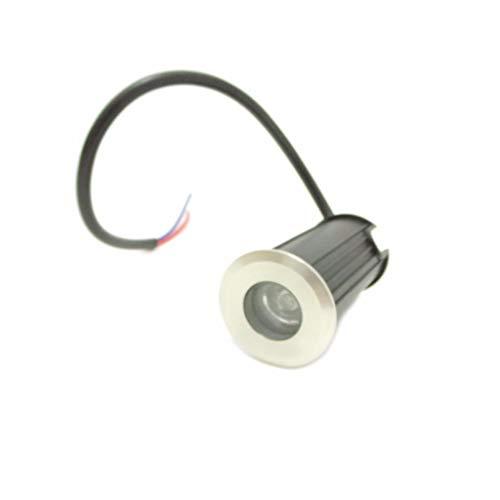Outdoor blanc chaud 7lm 60mm ø 5 lots ip65 230v LED sol encastré Agena
