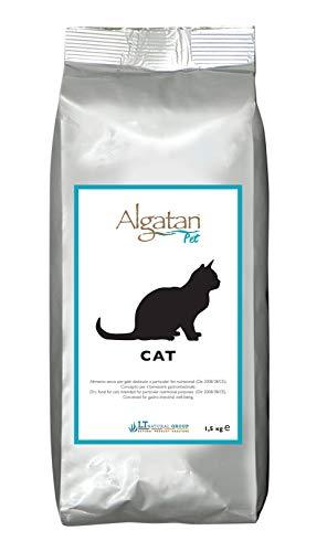 Algatan Pet Cat, Cibo Secco di Pesce per Gatti Naturale Antibatterico, Anti-Infiammatorio ed Energizzante - 1.5 kg