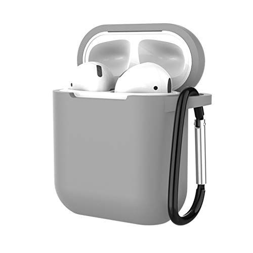 QUNANEN Earphone Case Protect Silicone Box Skin Earphone Charger Cover Earbud Case Carrying Case...