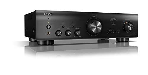 Denon PMA800NEBKE2 Stereo-Vollverstärker (Aluminium Frontblende, Digitaleingänge, ECO-Standby, 2x 85 Watt) Schwarz