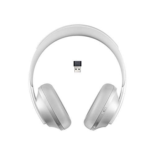 Bose Noise Cancelling Headphones 700 UC, with Alexa Voice Control, Silver