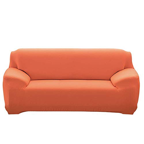 JIAYOUFC Sofa Slipcovers, Extendable JIAYOUFC Sofa Slipcovers with Armrests Comfortable JIAYOUFC Sofa Slipcovers for Living Room Bedroom (Orange Sweets,3 Seater/Sofa)