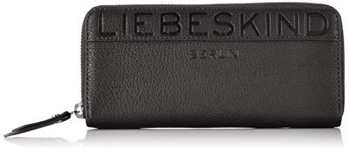 Liebeskind Berlin Damen URElainW8-Urban Geldbörse, black, 2.0x10.0x19.0 cm