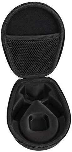 JIANGAA GC0292 Pequeño Viaje portátil Scratchresistant Accesorios Caja de Auriculares portátiles Negro