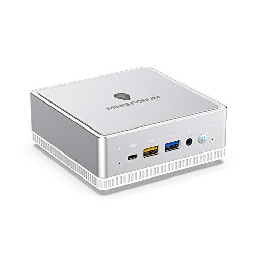 Windows 10 小型パソコン MINISFORUM DeskMini UM300ミニPC AMD Ryzen 3 3300U最大3.5Ghz クアッドコアミニ...