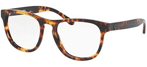Ralph Lauren POLO 0PH2206 Monturas de gafas, New Jerry Tortoise, 52 para Hombre