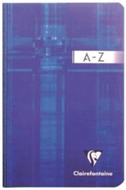 Clairefontaine 5 x Registerbuch 11x17cm 96 Blatt kariert weicher Deckel Deckel Deckel A-Z farbig sortiert B00B995JNY | Niedriger Preis  11b869