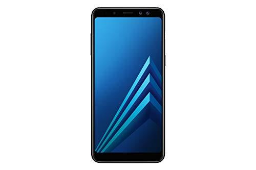 Samsung Galaxy A8 (2018) Smartphone, Black, 32GB espandibili, Dual sim [Versione Italiana] (Ricondizionato)