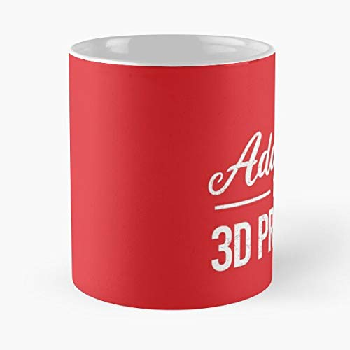 Hobby Idea Printing Gift 3D Engineer Printer Best 11 Ounce Ceramic Coffee Mug Gift