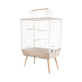 Zolux Cage Neo Jili Oiseau L 78 X P 47.5 X H 112 Cm Beige