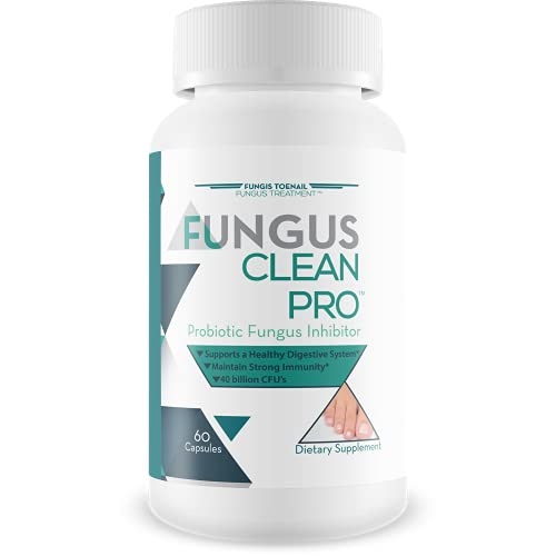 Fungus Clean Pro - Probiotic Fungus Inhibitor - Fight off fungus from the inside out with this powerful fungus defense probiotic - By Fungis Toenail Fungus Treatment - Protect your body from fungus