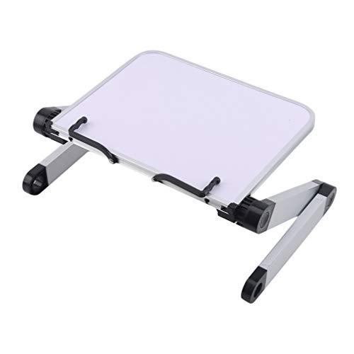 Sawyerda - Estantería de escritorio con ángulo ajustable para leer libros en casa, oficina, color blanco, blanco