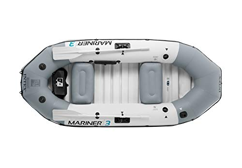 Intex 68373NP - Barca Hinchable Mariner 3 con 2 Remos 297 x...