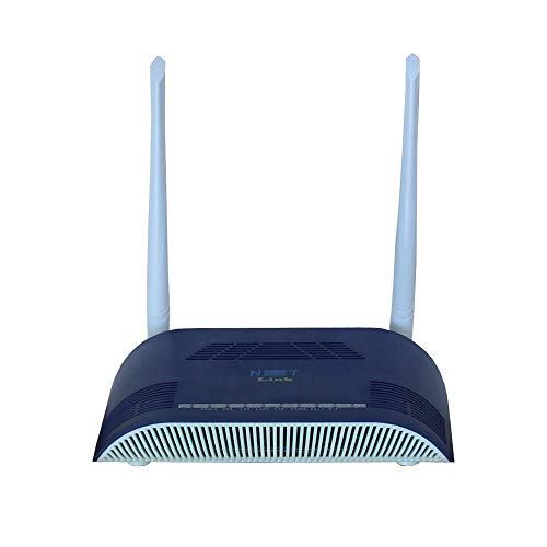 Netlink WiFi Modem Dual Antenna with Voice GPON/EPON HG323RGW ONT This ONU is Compatible for BSNL ftth 300 Mbps Wireless Speed 1GE+1FE+1POTS+WiFi