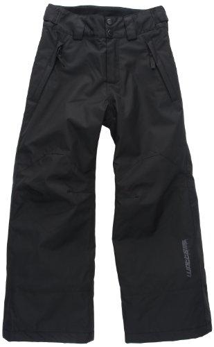 Watts Kitt Pantalon ski freestyle garçon Noir 8 ans