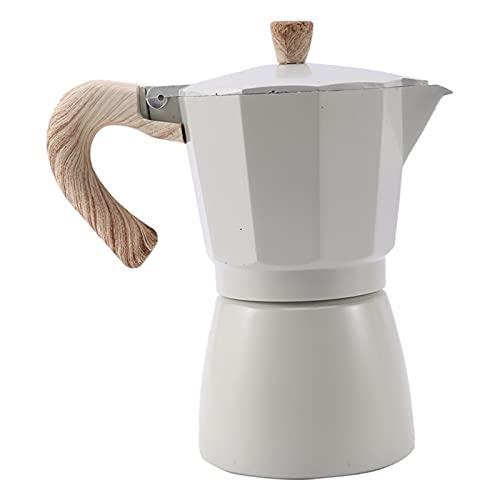 NEW MEI Latte Mocha Ekspres do kawy Włoski Mokka Espresso Maker (Color : 300ml)