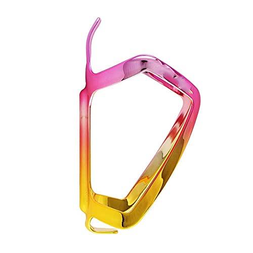 Mifty Bicicletas Jaula De Botella DeAgua Accesorios para Equipos De Ciclismo Portabidones para Bicicleta (Color : Pollen Gold)