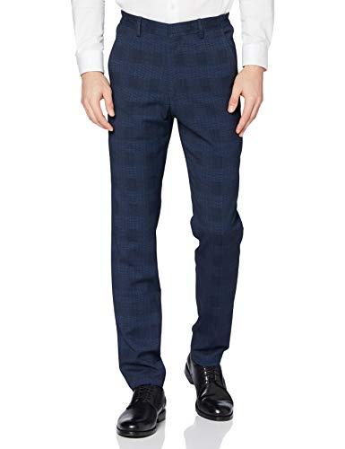 Pierre Cardin Anzughose Futureflex Rick Pantalones de Traje, Azul, 52 para Hombre