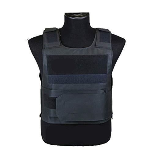 73JohnPol Outdoor Zubehör Black Hawk Tactical Vest Outdoor-Schutzausrüstung Trainings Protective Tactical Vest & (Farbe: schwarz) (Größe: Schwarz)