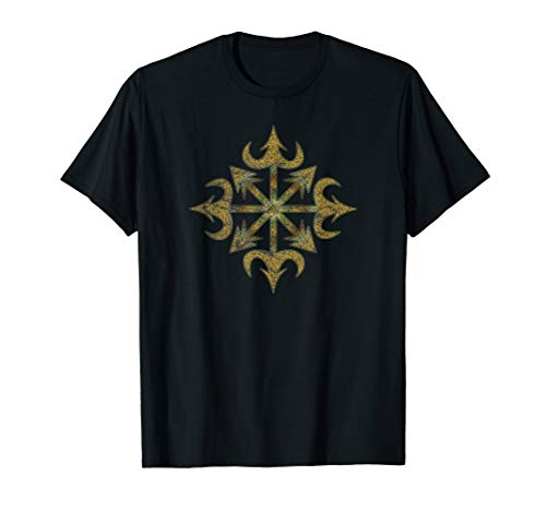 Chaos, Magie, Stern, Symbol, Pfeil, Okkult, Mystik, Zeichen, T-Shirt