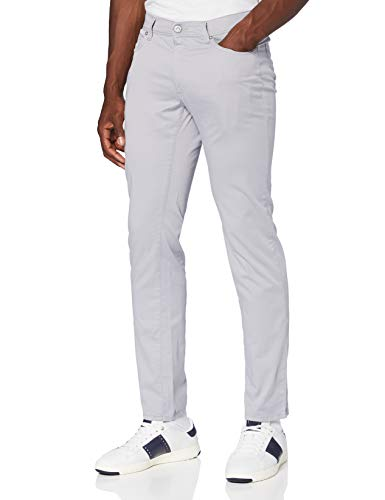 BRAX Herren Style Cadiz Ultralight Hose, Grau (Silver 07), 33W / 30L