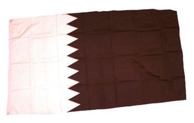 Fahne / Flagge Katar 90 x 150 cm Flaggen Fahnen