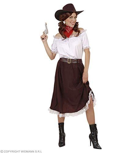 Widmann Generique - Déguisement Cowgirl Blanc Marron Femme Taille M