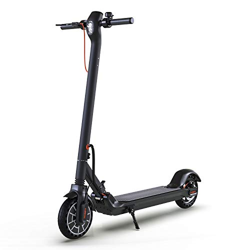 "Hiboy max electric scooter - 350w motor 8. 5"" solid tires up to 17 miles & 18. 6 mph one-step fold, adult electric scooter for commute and travel"