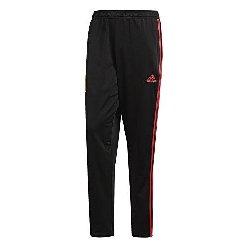adidas Herren Spanien Präsentationshose Hose, Black/Red, XL